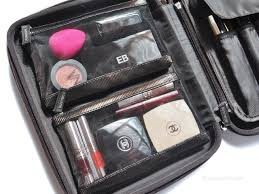 makeup travel bag images Packing a travel makeup bag bubbly michelle jpg