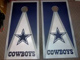 dallas cowboys hand painted boards set all paint no