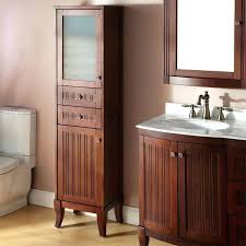 bathroom vanity with linen tower linen cabinet tower bathroom decoration using white wood bathroom