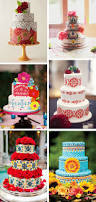 mexican themed wedding cakes