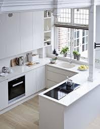 white kitchen no cabinets 70 creative small kitchen design ideas digsdigs