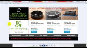 camera sales black friday irobot roomba black friday 2016 deal and sale hourly update