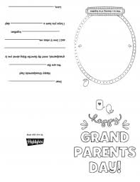 day cards grandparent s day card highlights for children