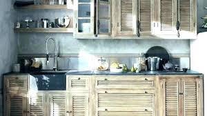 cuisine en bois naturel cuisine en bois brut design de maison
