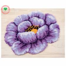 Purple Flower Rug Online Get Cheap Thread Crochet Flowers Aliexpress Com Alibaba