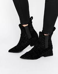 womens black boots sale buy jeffery shoes sale jeffrey cbell velvet point chelsea