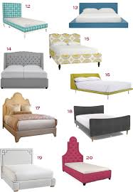 Plush Headboard Beds Get The Look 32 Upholstered Headboards Stylecarrot