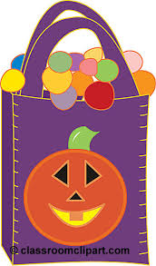 halloween candy bag of candy clipart wikiclipart