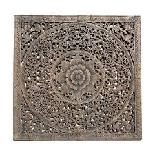wood wall carvings balinese antique wood carving wall panel siam sawadee