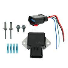 radiator cooling fan relay u0026 harness kit set for chrysler dodge