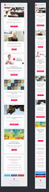 the 25 best email template design ideas on pinterest email fashion