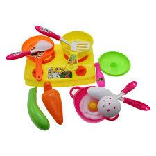 jeux de simulation de cuisine 13 pcs ensemble jouet cuisine jeux de simulation play bébé enfant