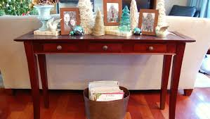 Oak Console Table With Drawers Table Entertain Pretty Console Table With Closed Storage Awesome