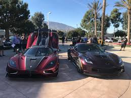 koenigsegg colorado grabbed a pic with a koenigsegg corvetteforum chevrolet