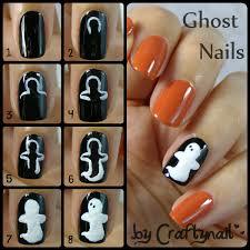 halloween nails craftynail