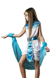 Halloween Costume Kids Girls Amazon Kids Girls Egyptian Halloween Costume Cleopatra