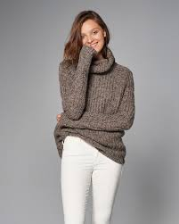 a f cable turtleneck sweater in oatmeal 68 wishlist