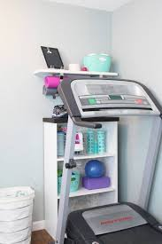 Small Treadmills For Small Spaces - the best home gym hacks for small spaces smart storage gym and