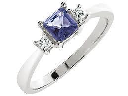 pierscionki apart pierścionek z białego złota z diamentami i tanzanitem wzór 389