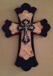 wood crosses for crafts custom made wooden decorative stacked cross by ballardb314 on etsy