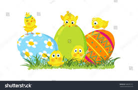 decorative eggs easter vector illustration decorative eggs stock vector