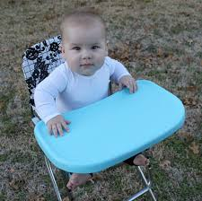 Painted Metal Vintage Cosco High Chair A Vintage Highchair Makeover With Tutorial Bare Feet On The
