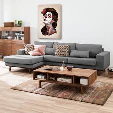 autour d un canape glänzend canape gris deco quel cadre d co avec un canap decoration