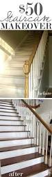 Banister Remodel 23 Pretty Painted Stairs Ideas To Inspire Your Home House