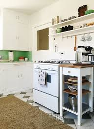 Ikea Kitchen Cart Makeover - updating a vintage kitchen with ikea door sixteen
