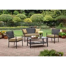 patio furniture and garden helpers