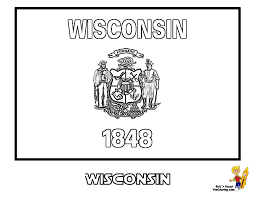 nevada state flag coloring page wisconsin state flag coloring page coloring home