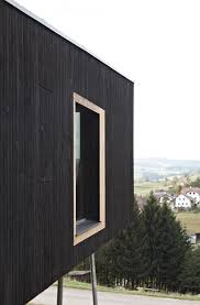 hpsa perches house s on stilts as lookout over austrian mountains