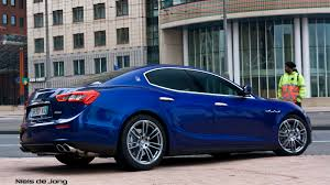 matte black maserati price pictures of the maserati ghibli in rotterdam