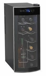 avanti 12 bottle thermoelectric countertop wine cooler