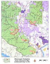 Wildfire Map Valley Fire by Okanogan Complex Fires News Brief Methow Grist
