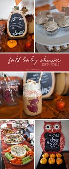themed baby shower fall themed baby shower party ideas a joyfully mad kitchen