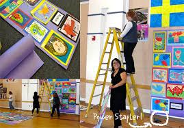 art show ideas prepping for school art show deep space sparkle