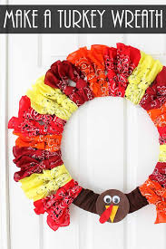 thanksgiving wreath thanksgiving wreaths make a turkey wreath the country chic cottage