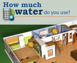 www home water usage calculator water conservation and efficiency home