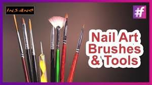 nail art tools and brushes basic nail art designs video