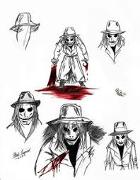 sketch of a main characters from puppet master the new comic book