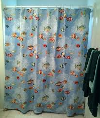 Palm Tree Shower Curtain Walmart by Articles With Fabric Shower Curtain With Sheer Window Tag Shower