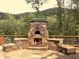 backyard brick bbq pits fire pit design ideas