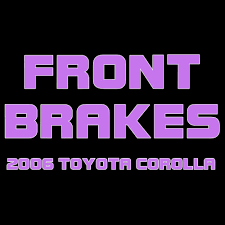 logo toyota corolla 2006 toyota corolla replacing the front brakes youtube