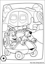 engie benjy coloring pages coloring book