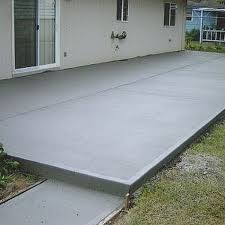 Patio Deck Cost by How To Calculate Concrete Needed To Pour A Slab Concrete Patios