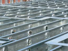 incredible decoration steel floor joists elevations deck framing