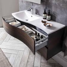 bauhaus svelte 120 wall hung vanity unit with basin bauhaus