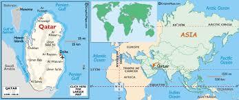 doha qatar map doha sailing qatar map doha city capital