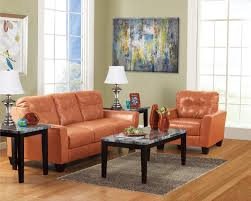 Orange Sofa Bed by Living Room Manhattan Colony Furniture Leasing